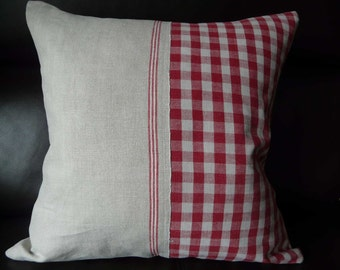 Handmade cushion cover, pillowslips, scatter, decorative cushion French country style, handmade from vintage linen SPECIAL OFFER
