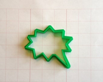 Thought Bubble 3 Cookie Cutter