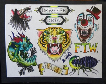 Original Tattoo Flash