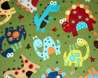 Dinosaur Fabric Canvas Art Decor