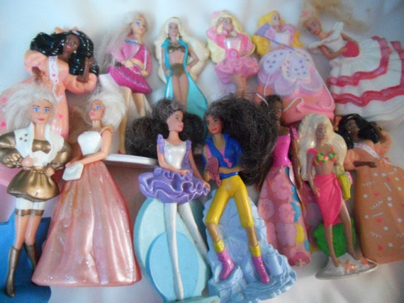 Barbies From The Early 90s And 90s Mini Barbie Doll