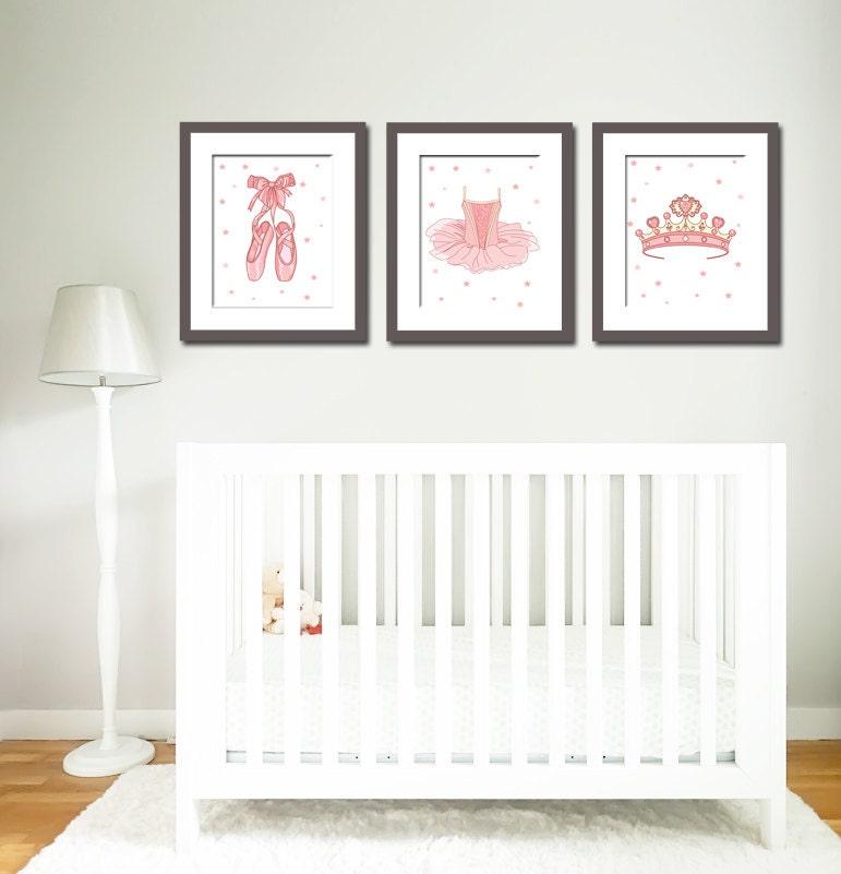 Nursery Art Ballerina Prints Ballet Prints Little Girls