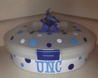 Personalized Cupcake/Pie Cake/Egg carrier