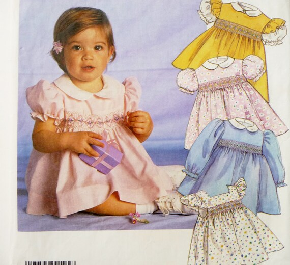 Smocked Baby Dress Sewing Pattern Uk - Sweater Grey