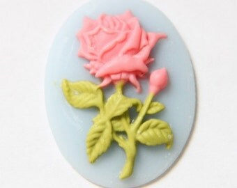 12 pcs of resin cameo 30x40mm-RC0450