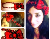 Hello Kitty Kandi Bow Headband