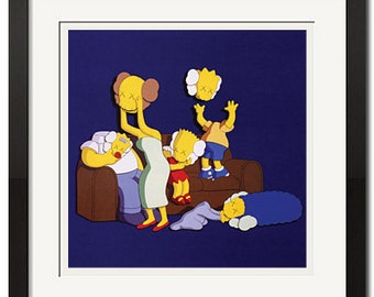 The Simpsons #2 Urban Street Art Poster Print