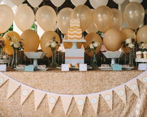 Sequin Tablecloth ORDERS We can make custom sizes