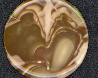 Willow Creek Jasper Cabachon (Brown and Tans)