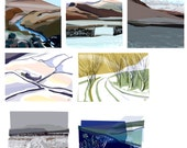 Art cards (blank inside), Six cards for the price of five, Size: A6 and/or 12.5 x 12.5cm