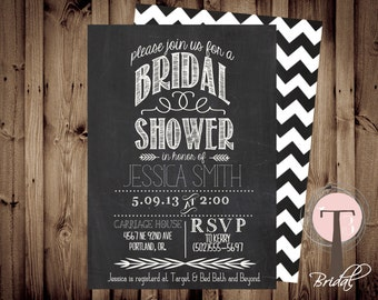Printable Bridal Shower Invite/Bridal Shower INVITATION, 1029