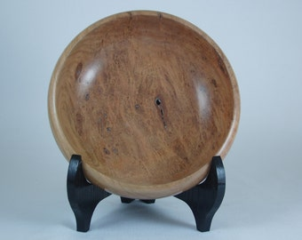 Wood Burl Bowl - Hand Turned Cherry Burl