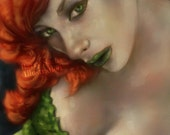 Poison Ivy 11x17 Signed Print by Barry Sachs
