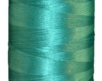 Polyester Embroidery Thread on 5000M Cones A6176 Emerald