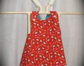 Hello Kitty, Owl reversable dress size 3