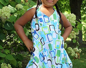 Girls (Size 5) Halter Top Dress