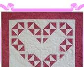 PDF Pattern Heart Decorative Wall Art Quilt