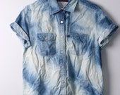 Medium Bleached Denim Shirt