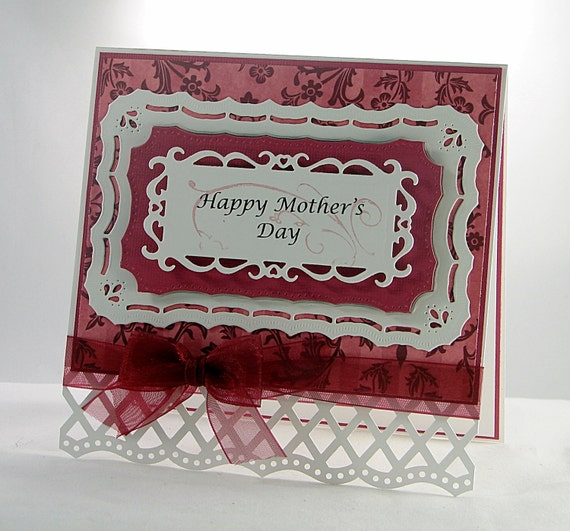 Handmade elegant mothers day card free by theresacalderini for Classy mothers day cards