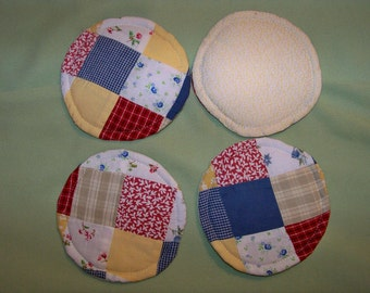 Kitchen Curtains Coasters - Set Of 4