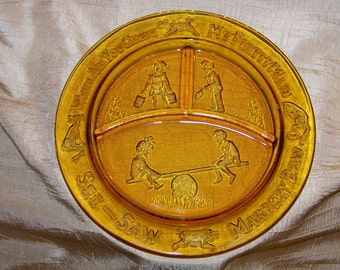Vintage Margery Daw Child's Plate