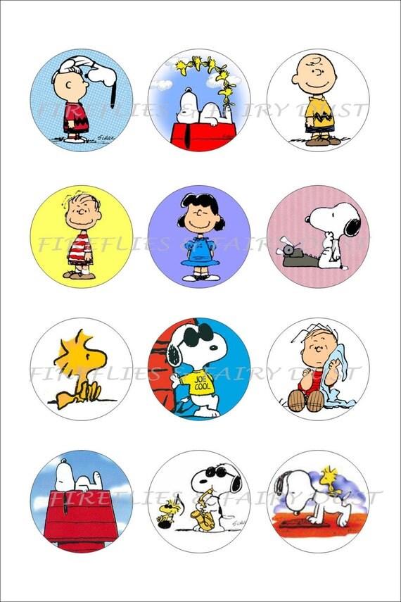 Charlie Brown Christmas Cake Toppers
