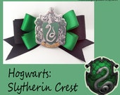 Slytherin Crest Hair Bow- Hogwarts - Harry Potter- LAST ONE