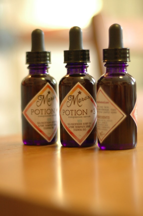 Potion 3 - Facial Oil for Normal, Combination, Dry, Oily, Sensitive and Mature Skin