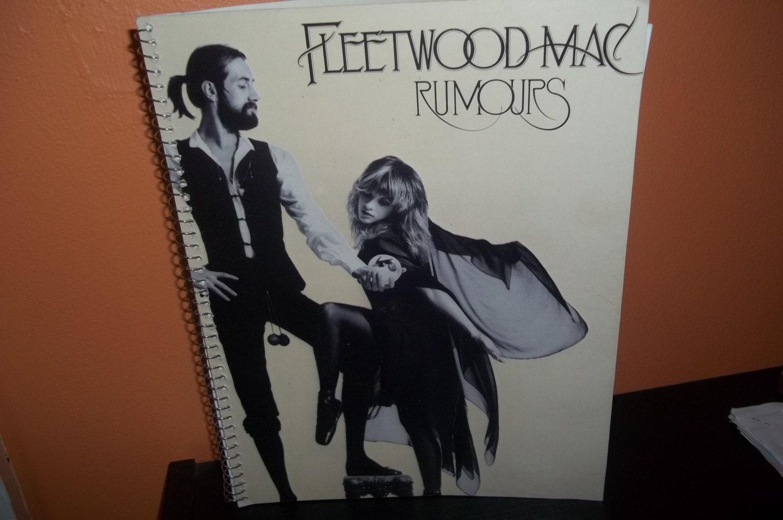 fleetwood mac rumours album cover notebook by revinylizedmadison. Black Bedroom Furniture Sets. Home Design Ideas
