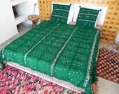 Large moroccan wedding blanket wool and cushions / Moroccan interior design / handira wedding blankets