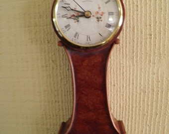 Petite Electric Wall Clock Made in England