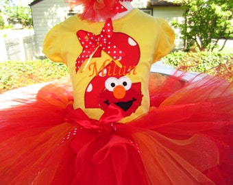 Elmo birthday tee ANY number
