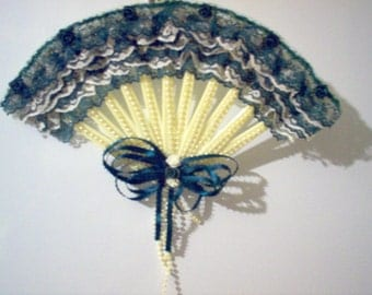 Hand Made Decorative Hanging Fan