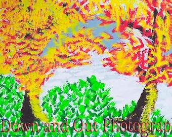 8 x 12 Rainbow Tree