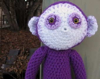 Monkee  -handmade crochet, made to order