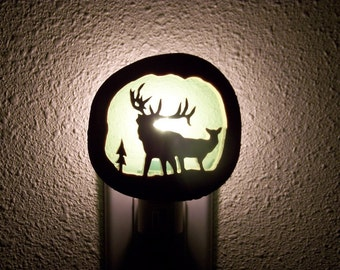 Elk duo nightlight