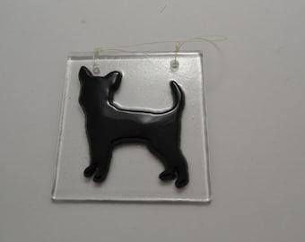 Chihuahua Suncatcher,  Chihuahua ornament