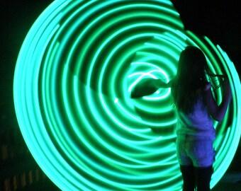 "28"" - 71cm Mantis by Colorado Hula Hoops - Rechargeable LED Hula Hoop"
