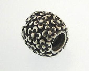Pandora Sterling silver oxidized Perfect Poises Charm
