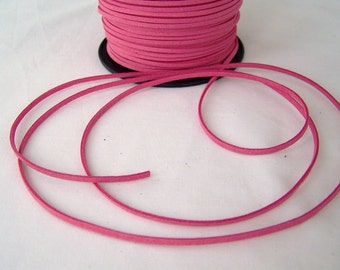 Rose Faux Suede Cord 20 Feet
