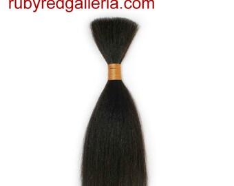BD0007MH2 Dark Brown Straight ReBorn Toddler Hair 0.25 oz