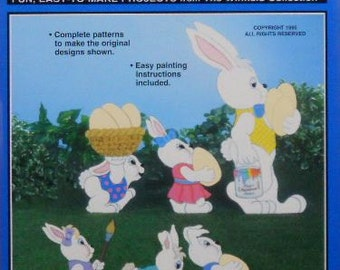 Easter Bunny Parade Woodcraft Pattern
