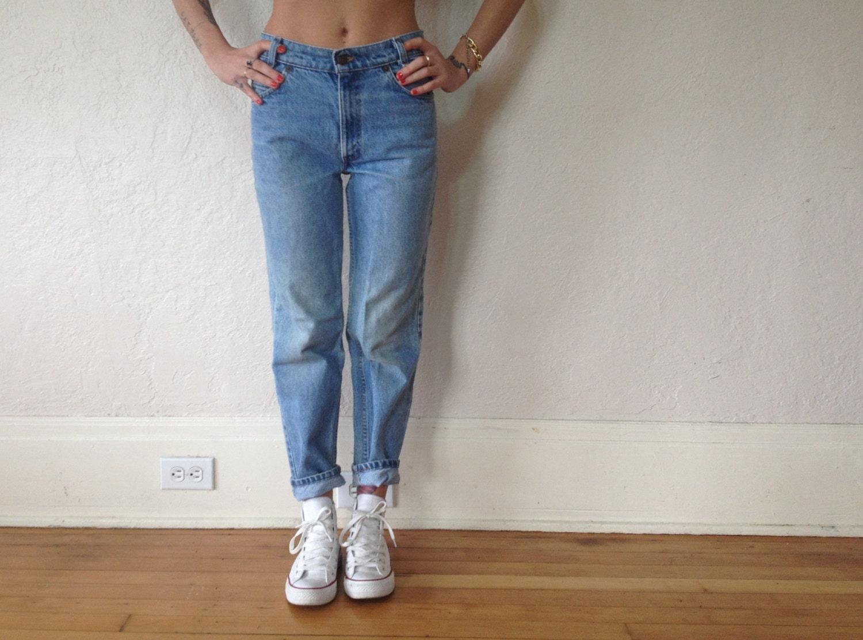 Brigitte Transcend Vintage High Waist Crop Boyfriend Jeans, Size 23 - Blue $ $ A sleek pair in a dark wash with contrasting cuffed hems and a high waisted finish.