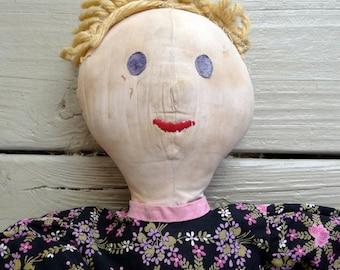 Vintage Primitive Rag Doll
