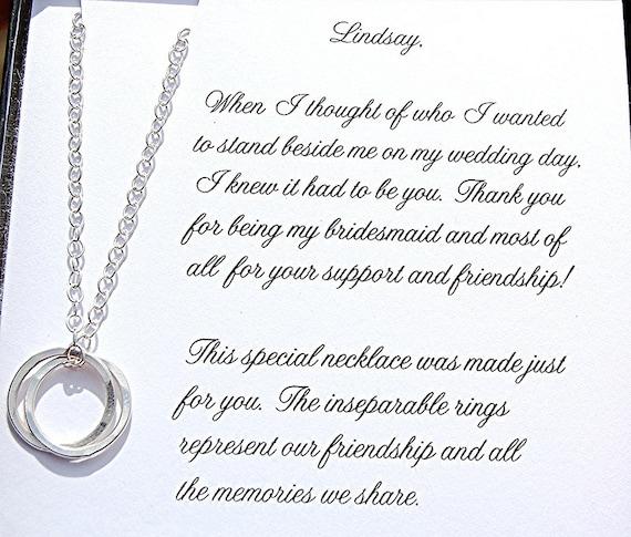Will You Be My Bridesmaid Gift Maid Of Honor Bridesmaid