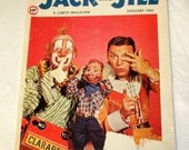 Jack and Jill Magazine January 1960 Howdy Doody and His Friends  GREAT COLLECTIBLE