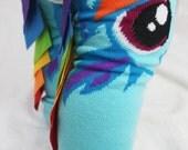 My Little Pony Rainbow Dash Baby to Toddler Leg Warmers, Halloween, dress up
