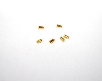 20 Piece goldf small caps. 2, 1 x 4, 5mm EK21