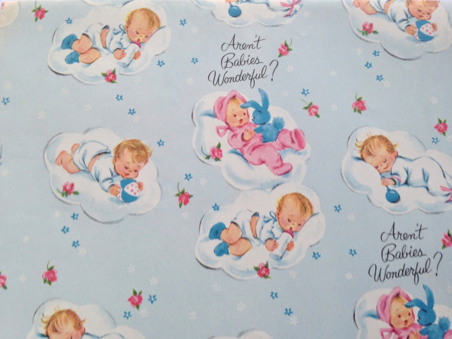 baby shower wrapping paper Find a great selection of gift wrapping paper rolls for birthdays and everyday our famous peek-proof wrap is always value-priced at current.