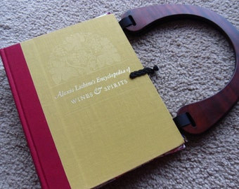Alexis Lichine's Encyclopedia of Wines & Spirits Book Purse